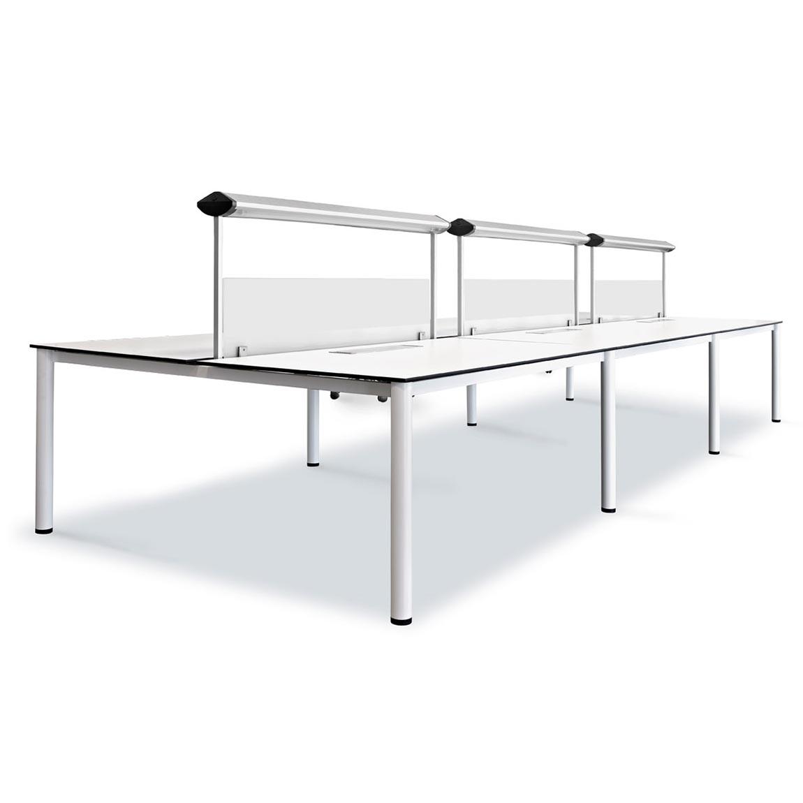 Bench y mesas compartidas